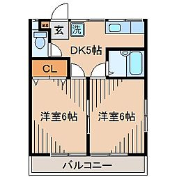 ステージア・フタバ[2階]の間取り