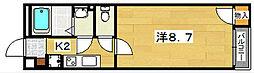 クレイノバンブスヴァルトハイム[1階]の間取り
