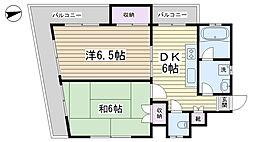 齋藤ビル[4階]の間取り