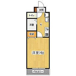 ヴィラコート・タイセイ[2階]の間取り