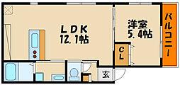 KARIN明石南[1階]の間取り