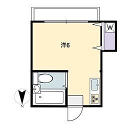 3106APT[4階]の間取り