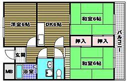 メゾン中塚[3階]の間取り