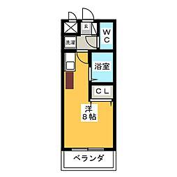 グランデュール56[5階]の間取り