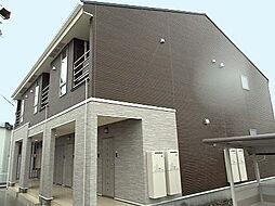 新潟県新発田市荒町の賃貸アパートの外観