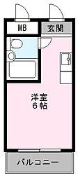 MアンドFマンション[2階]の間取り