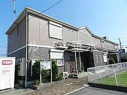 兵庫県三木市別所町小林の賃貸アパートの外観