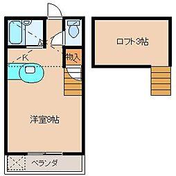 コンフォート岡[2階]の間取り