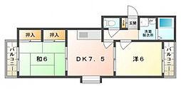GRACE COURT[3階]の間取り