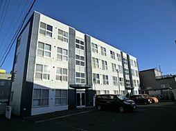 北海道札幌市豊平区月寒西一条6丁目の賃貸マンションの外観