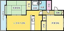 富士ヶ丘[205号室]の間取り