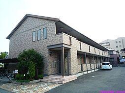 兵庫県伊丹市荻野2丁目の賃貸アパートの外観
