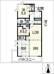 セントラルハウス[1階]の間取り
