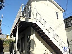 兵庫県三木市志染町東自由が丘1丁目の賃貸アパートの外観