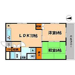COMS35[4階]の間取り