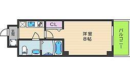 Co.labo天王寺[603号室]の間取り