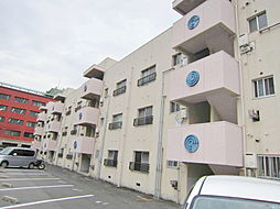 築地コーポ[1階]の外観