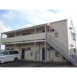静岡県浜松市中区南浅田1丁目の賃貸アパートの外観