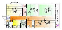 BONHEUR1[1階]の間取り