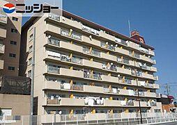 里水マンション A棟[6階]の外観