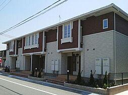 兵庫県宍粟市山崎町下広瀬の賃貸アパートの外観