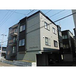 北海道札幌市西区二十四軒四条5丁目の賃貸アパートの外観