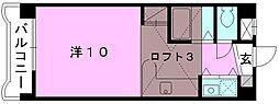 メゾンドール室町[402 号室号室]の間取り
