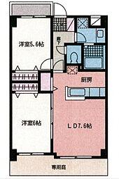 セラ・ステージ新横浜[202号室号室]の間取り