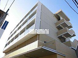 フローラ供米田[3階]の外観
