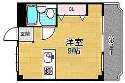 第2星ヶ丘マンション[1階]の間取り