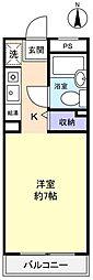 TK八千代[2階]の間取り