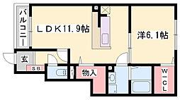 山陽本線 網干駅 バス13分 上余部北口下車 徒歩5分