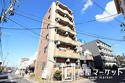 愛知県豊田市山之手4の賃貸マンションの外観