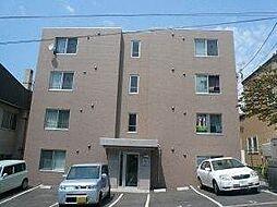 北海道札幌市豊平区平岸六条12丁目の賃貸マンションの外観