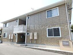 香川県高松市牟礼町原の賃貸アパートの外観