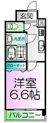レクシア栄橋[2階]の間取り