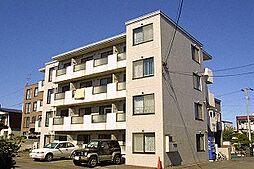 北海道札幌市西区発寒五条5丁目の賃貸マンションの外観