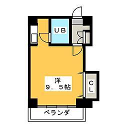 メゾンユキオカ[3階]の間取り