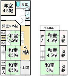 東福寺駅 4,180万円