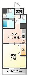 第17関根マンション[11階]の間取り