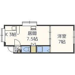 エクセル32A[3階]の間取り