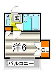 デザインスペース蕨[1階]の間取り