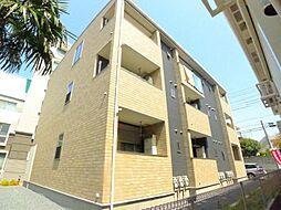 千葉県船橋市市場3丁目の賃貸アパートの外観