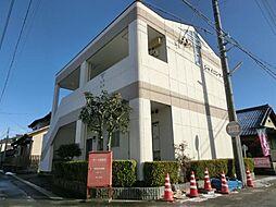 愛知県稲沢市治郎丸西町の賃貸アパートの外観