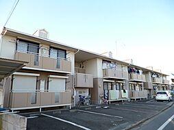 東京都昭島市拝島町2丁目の賃貸アパートの外観