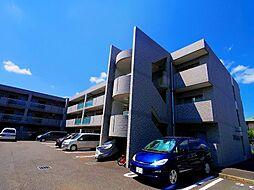 東京都清瀬市中里1丁目の賃貸マンションの外観