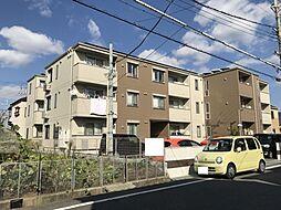 大阪府八尾市中田1丁目の賃貸アパートの外観