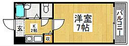 メゾンドTANAKA[1階]の間取り
