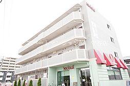 茨城県守谷市本町の賃貸マンションの外観