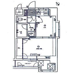エスポワール六ツ門[9階]の間取り